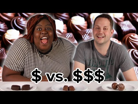 People Guess Cheap Vs. Expensive Chocolates