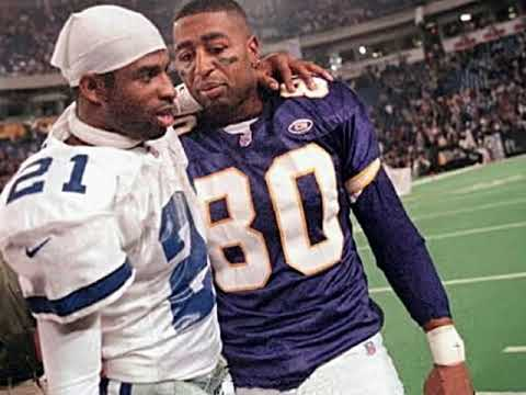 Deion Sanders vs Randy Moss and Cris Carter