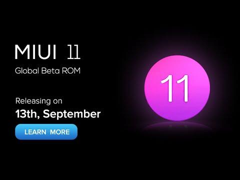 MIUI 11 - Launch Date in INDIA !
