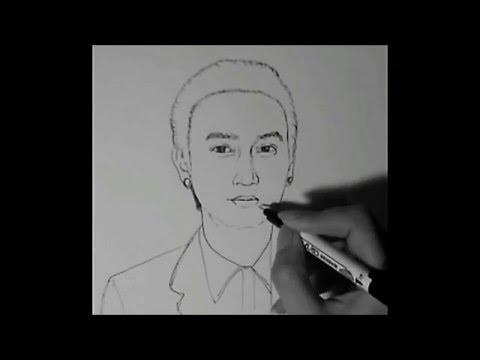 """วาดรูป การ์ตูน """"ตูน บอดี้แสลม""""   How To Draw People #11"""