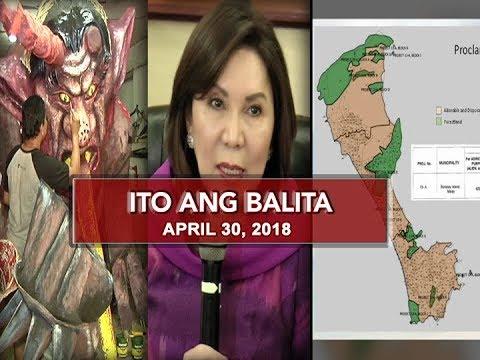 UNTV: Ito Ang Balita (April 30, 2018)