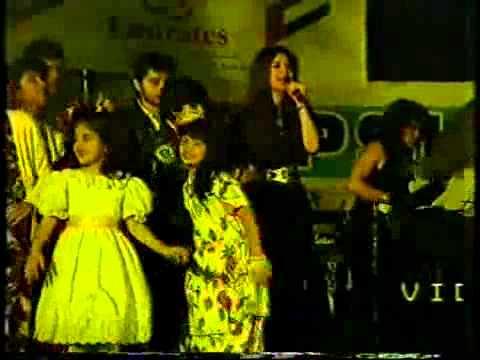 HQ Nazia Hassan and Zoheb Hassan   Disco Deewane Live 360p