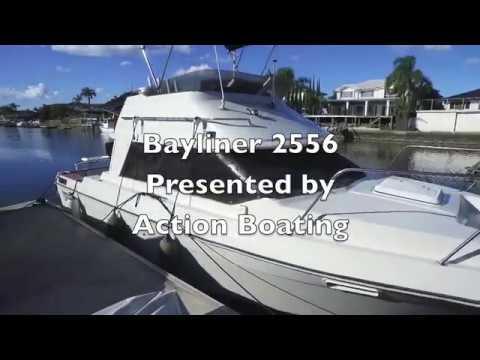 Bayliner 2556 Flybridge for sale, Action Boating, boat sales, Gold Coast, Queensland, Australia