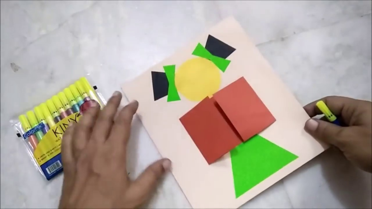 Handmade Childrens Day Greeting Cards Childrens Day Craft Youtube