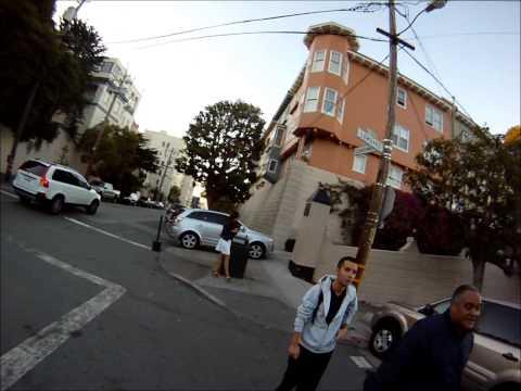 Biking Lombard Street - San Francisco
