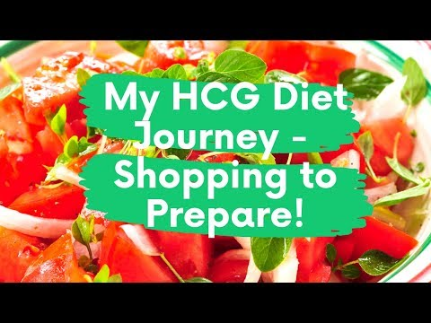 Food Shopping To Prepare For The HCG Diet Phase 2