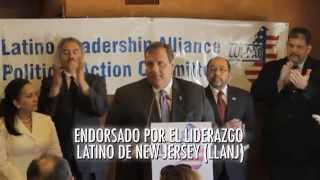Governor Christie: Orgullo de New Jersey