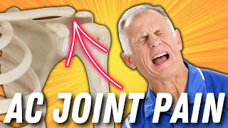 Effective Self-Treatment for AC joint pain-Acromioclavicular Joint Pain