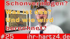 Schonvermögen - Was ist das und wie wird es berechnet? | ihr-hartz4.de #25
