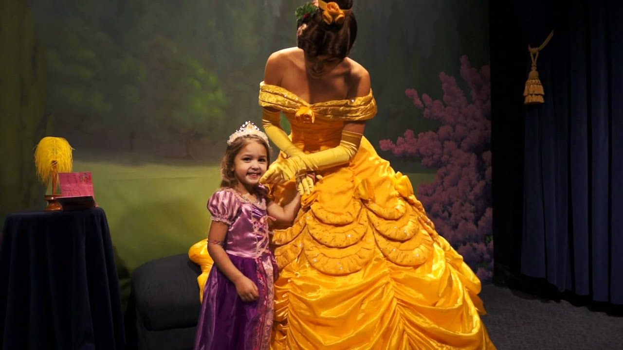 Rencontre princesse disney