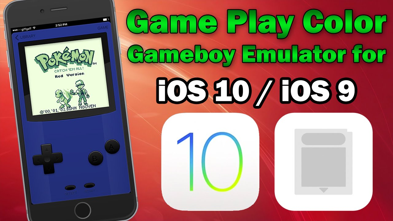 How to Play Gameboy Games on iOS 10 / 9 3 3 / 9 3 2 Using