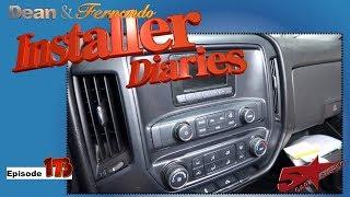 A Chevrolet Silverado gets a new GPS Pioneer radio Installer Diaries 172