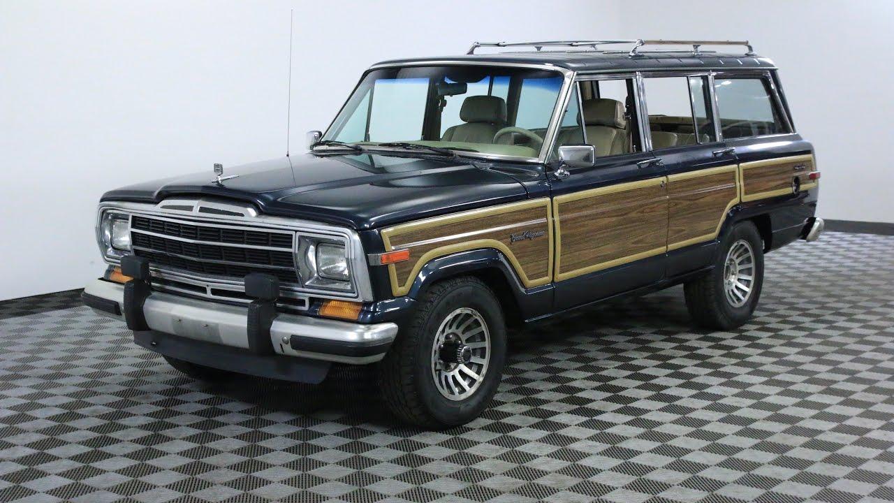 1988 jeep grand wagoneer blue youtube 1988 jeep grand wagoneer blue