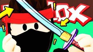 HO COMPRATO UNA KATANA NELLA SCUOLA DI NINJA!! — Roblox ITA (Maîtres Ninja)