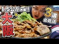 一次吃三間!大阪道頓堀在地好吃餐廳【大阪王將・たこ八・道頓堀肉劇場】《阿倫來吃喝》