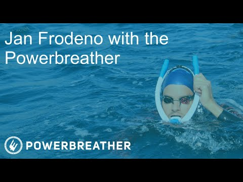 JAN FRODENO WORKOUT WITH AMEO POWERBREATHER