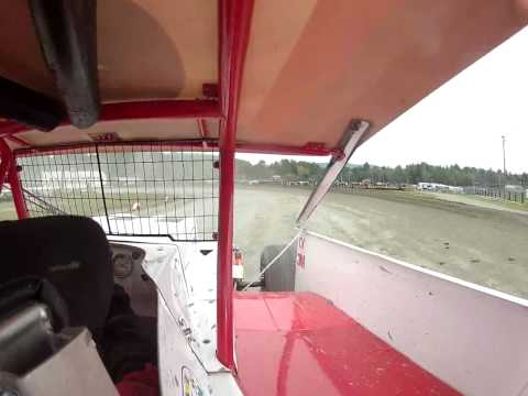 Hunter Bates Canaan Fair Speedway In-Car