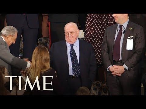 State Of The Union Attendees Sing 'Happy Birthday' To Synagogue Shooting Survivor | TIME