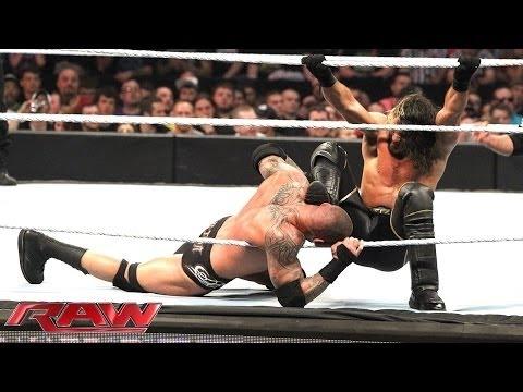 RAW - Randy Orton & Roman Reigns vs. Kane & Seth Rollins (April 27, 2015)