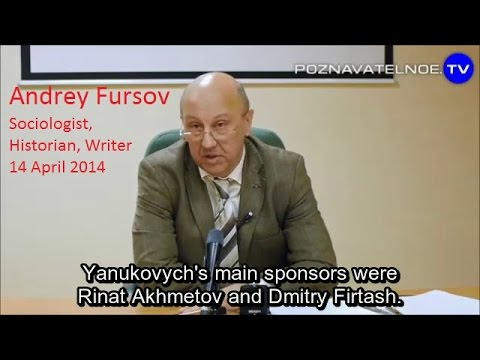 Battlefield Ukraine. Andrey Fursov