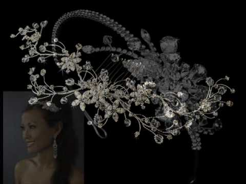 Swarovski Crystal Bridal Hair Jewelry.wmv