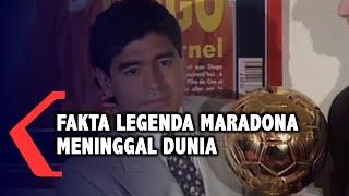 Sejumlah Fakta Legenda Sepak Bola Diego Maradona Meninggal Dunia
