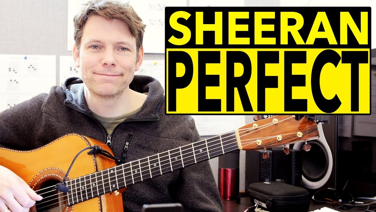 How To Play Perfect By Ed Sheeran On Acoustic Guitar Fingerstyle