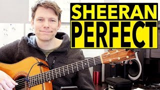 How To Play Perfect by Ed Sheeran on Acoustic Guitar - Fingerstyle Tutorial