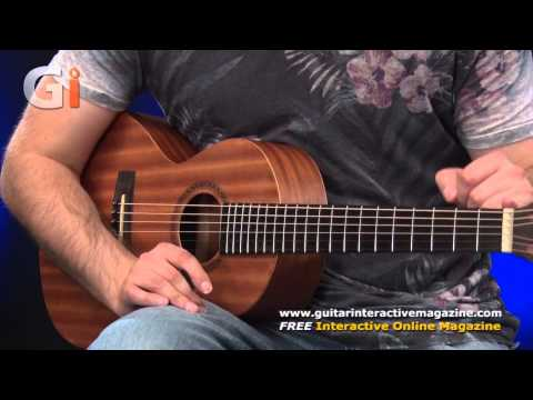 Aria ASA 18HN Travel Guitar Review | Guitar Interactive Magazine