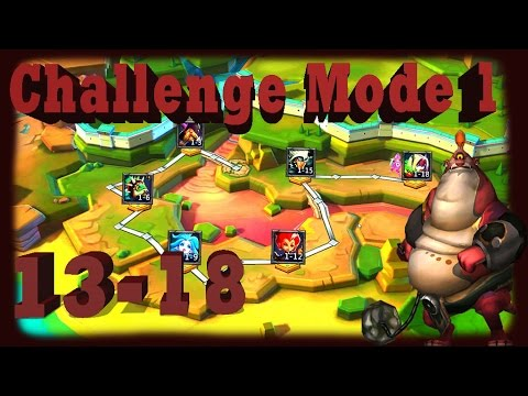 Lords Mobile Challenge Mode 1 (13-18)