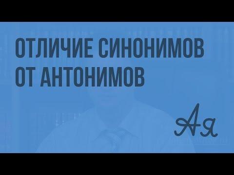 Антонимы Википедия