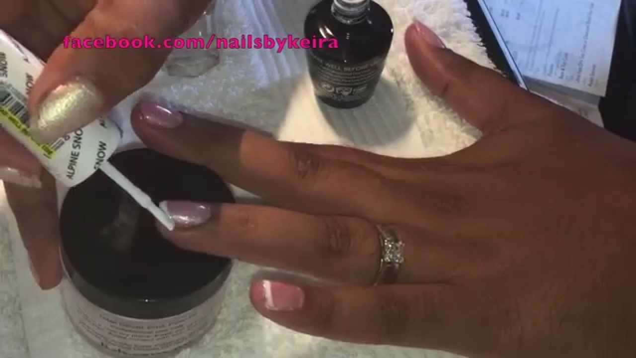 Opi Gelcolor French Manicure Princesses Rule Amp Alpine Snow Youtube