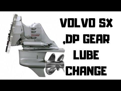 Volvo Sx Dp Drive Lower Unit Gear Lube Change YouTube