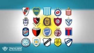 PES 2014 - Argentina Primera División - Equipos