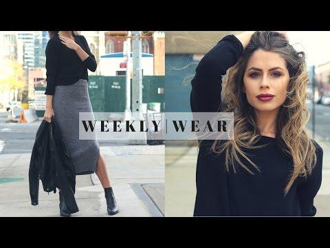 Weekly Wear   Sweater Skirt