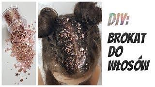 DIY: Brokat we włosach 😱 Fryzura na SYLWESTRA karnawał