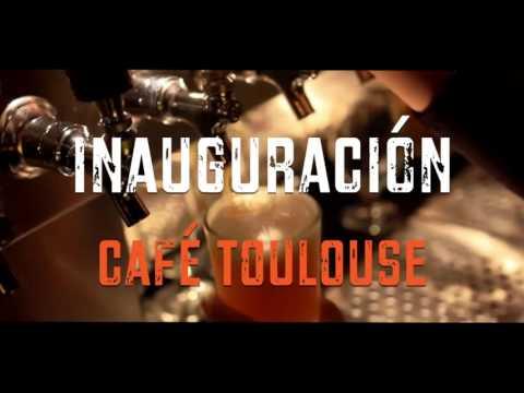 Inauguracion Café Toulouse
