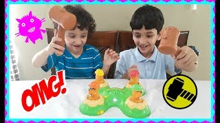 Unboxing whack-A-mole game from Hasbro😄🤗
