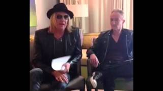 DEF LEPPARD - Album Release Day Periscope Fan Q&A (Oct. 30. 2015)
