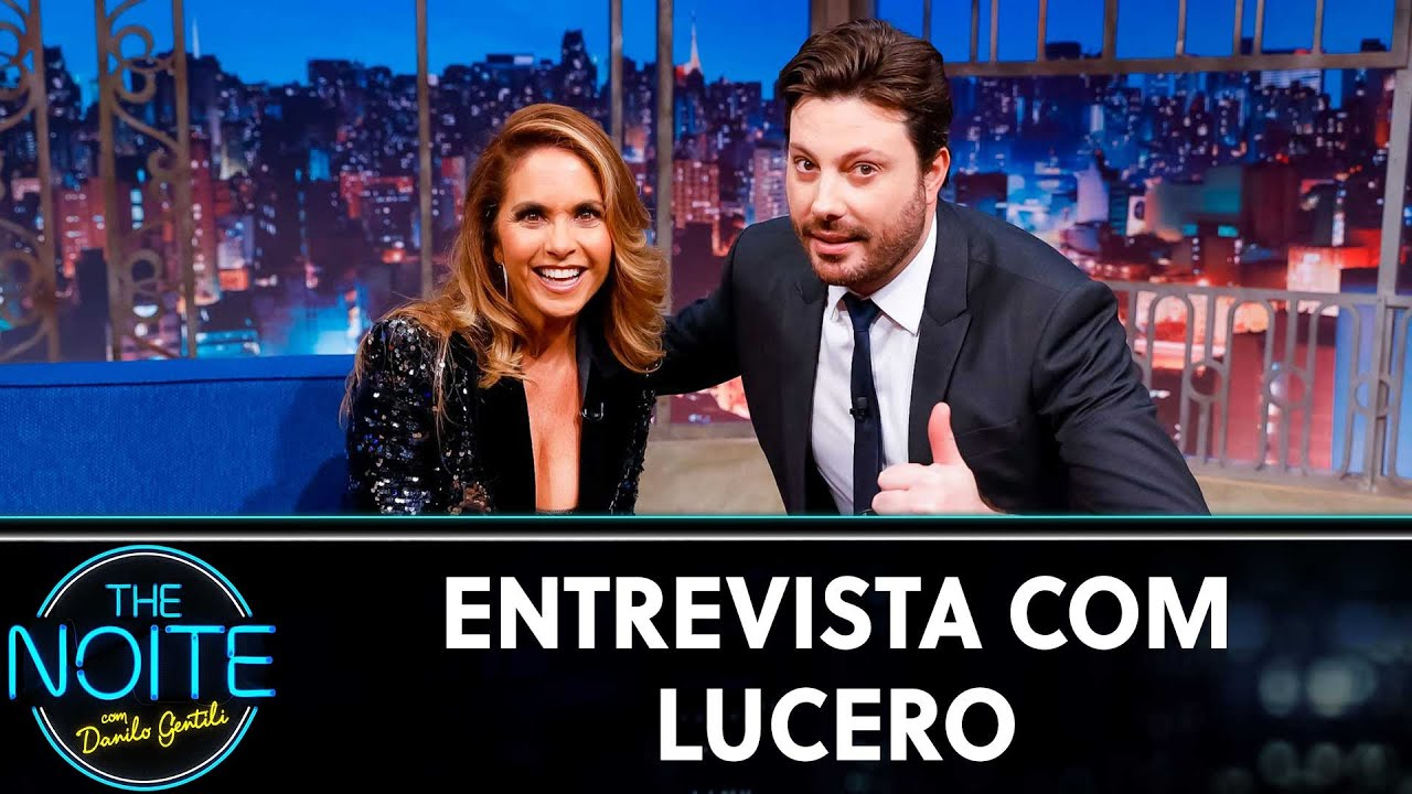 Entrevista Com Lucero The Noite 07 10 19 Youtube