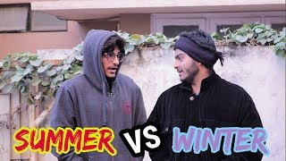 TYPES OF PEOPLE DURING SUMMER VS WINTER | TCP