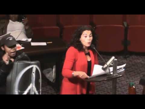 Laleh Addresses Oakland City Council