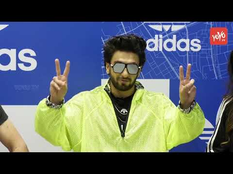Ranveer Singh Launches 'Adidas OFDD' First Store In India | YOYO Times