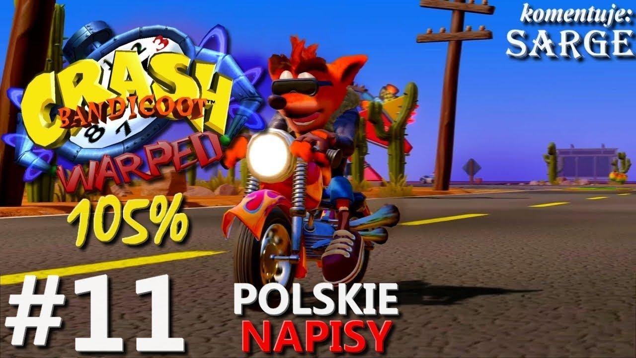 Zagrajmy w Crash Bandicoot 3 PS4 Remake (105%) odc. 11 – Kolejne czasówki | napisy PL | 1440p