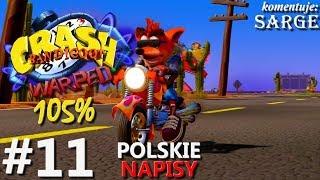 Zagrajmy w Crash Bandicoot 3 PS4 Remake (105%) odc. 11 - Kolejne czasówki | napisy PL | 1440p
