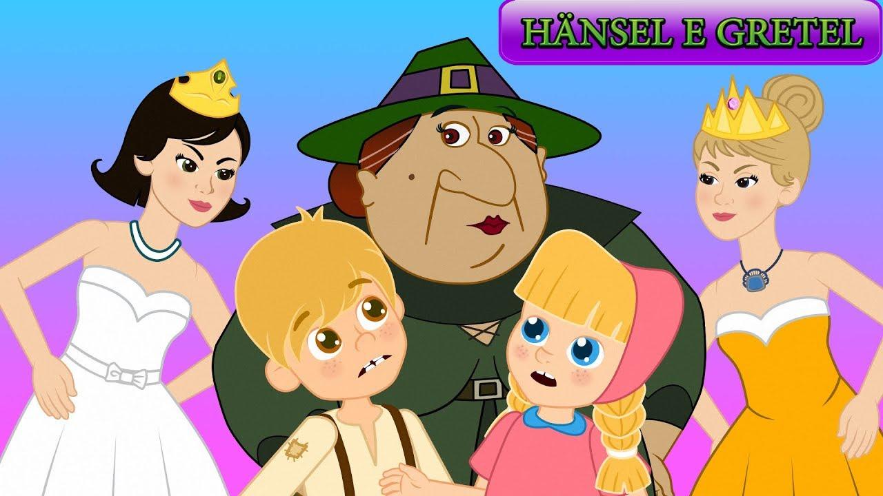 Hänsel e gretel le dodici principesse danzanti storie per