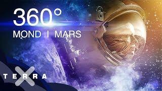 Virtuelle Reise zu Mond und Mars | 360 Grad