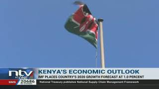 Kenya's economic growth forecast for 2020 placed at 1%