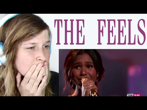 ALIYAH MOULDEN - JEALOUS ( THE VOICE ) | REACTION