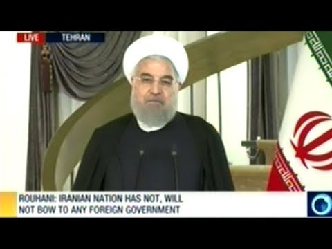 Iranian President Rouhani Responds To President Trump!